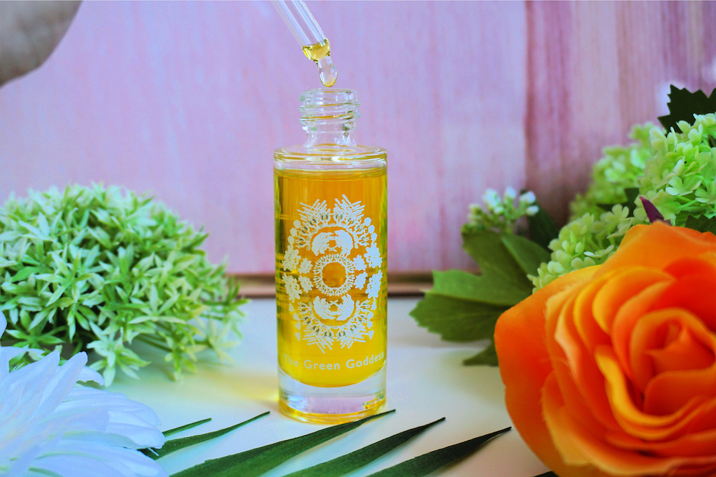 The Green Goddess Face Oil review