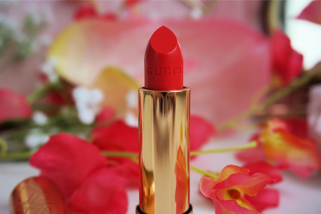 Gucci Beauty Rouge à Lèvres Satin Lipstick Review