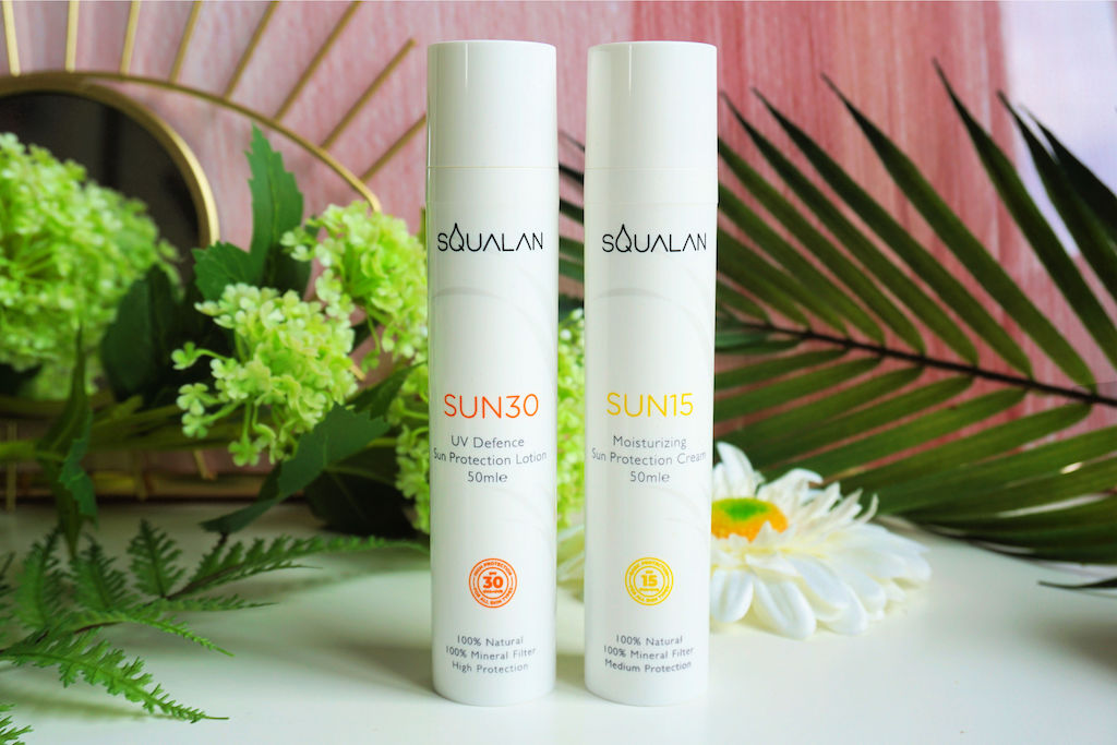 Squalan Hydraterende Zonnecrème SUN15 & Zonnebrandlotion SUN30 (duo review)
