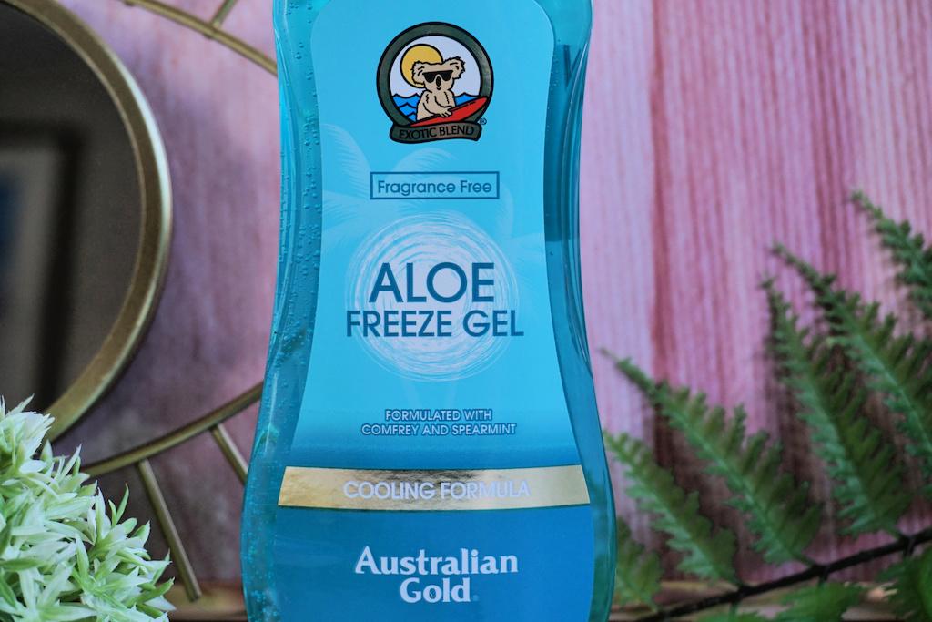 Australian Gold Aloe Freeze Spray Gel - After Sun Review