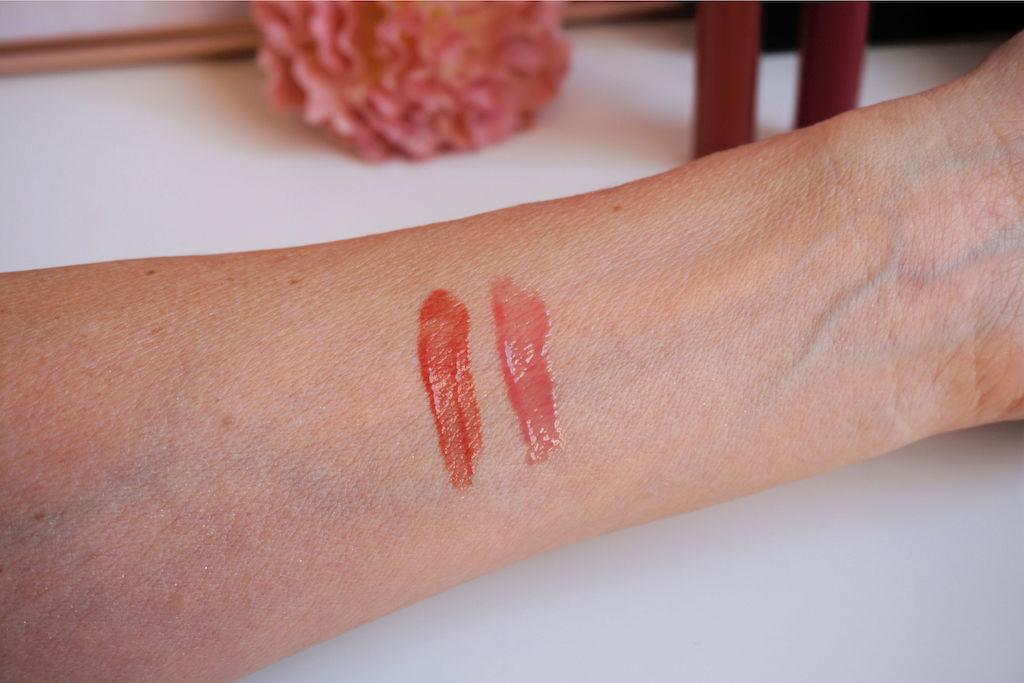 UNG Cosmetics Lipgloss in de kleur Rosé & Bronzed It review