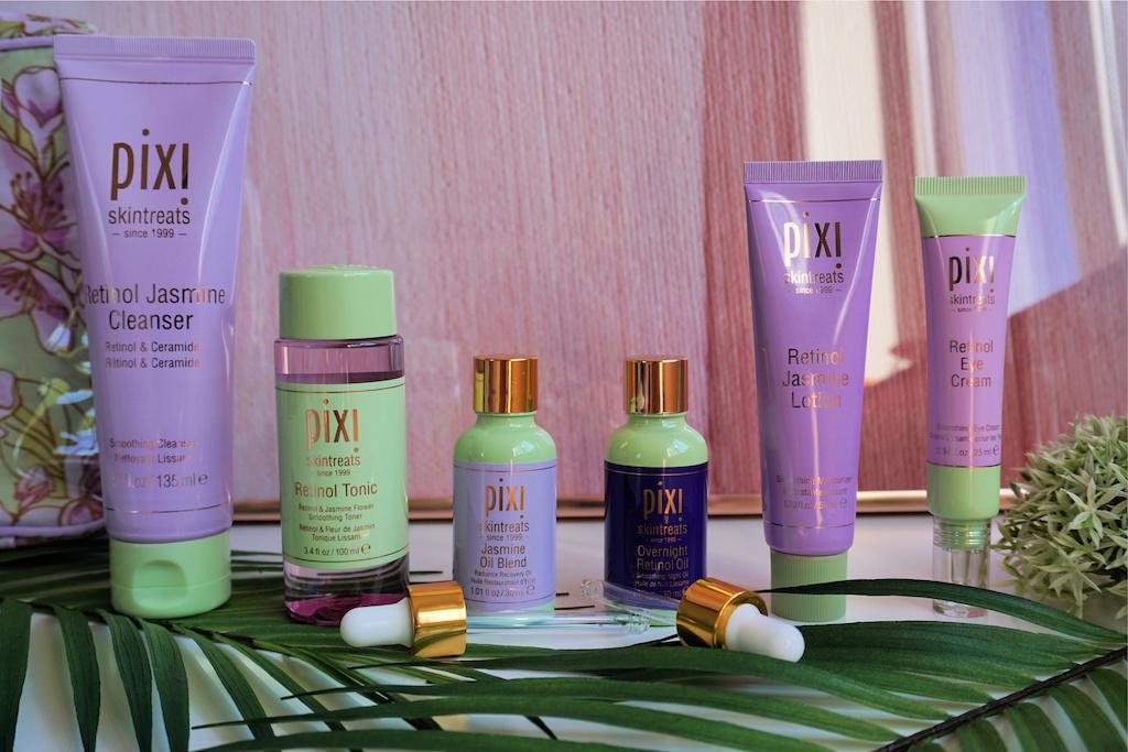 Pixi Retinol & Jasmine Productlijn
