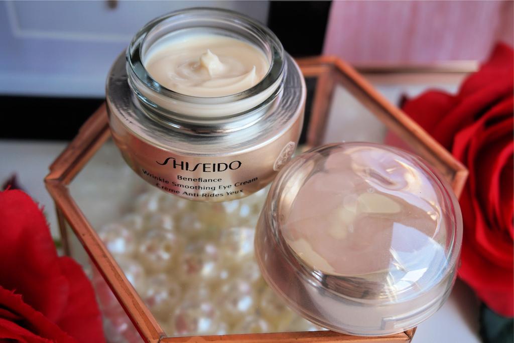Shiseido Wrinkle Smoothing Eye Cream Oogcrème review