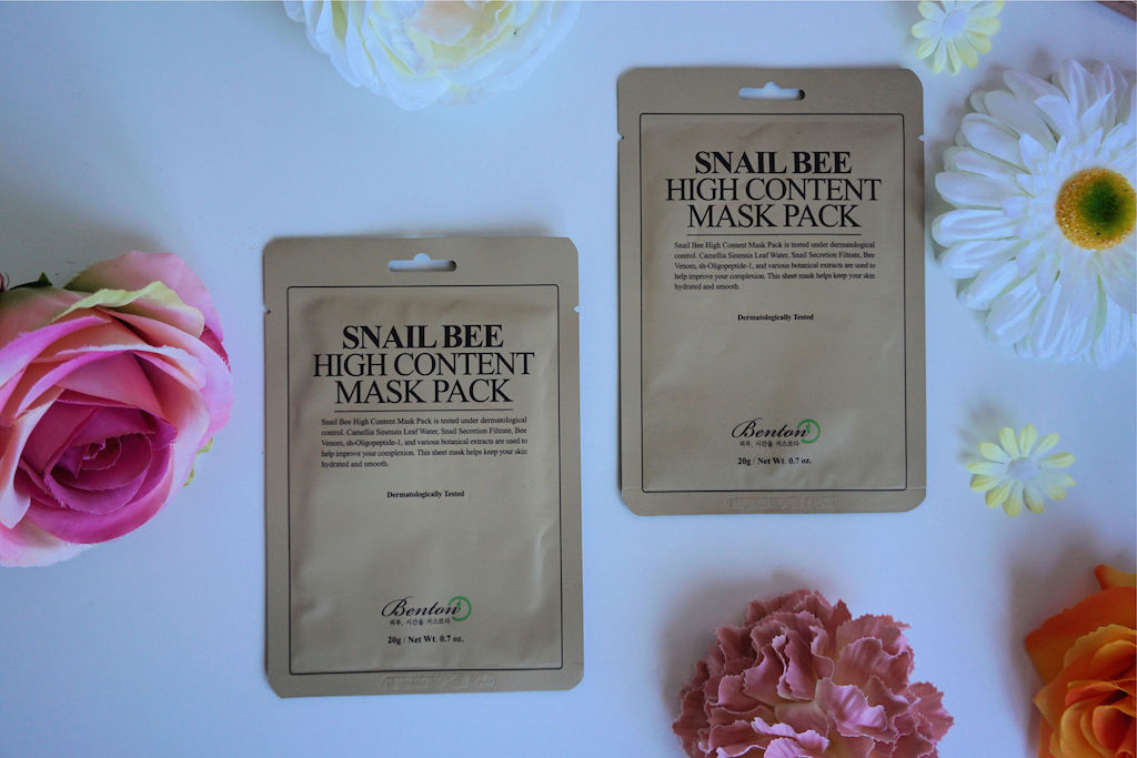 Benton Snail Bee High Content Sheet Masker Review