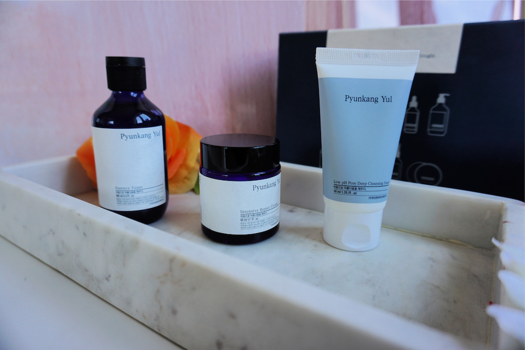 Pyunkang Yul Skincare Set: Essence Toner, Intensive Repair Cream & Cleansing Foam