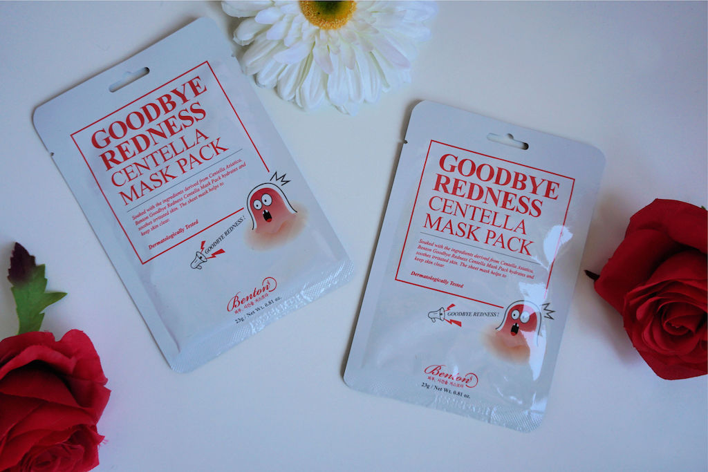 Benton Goodbye Redness Centella Sheet Masker Review