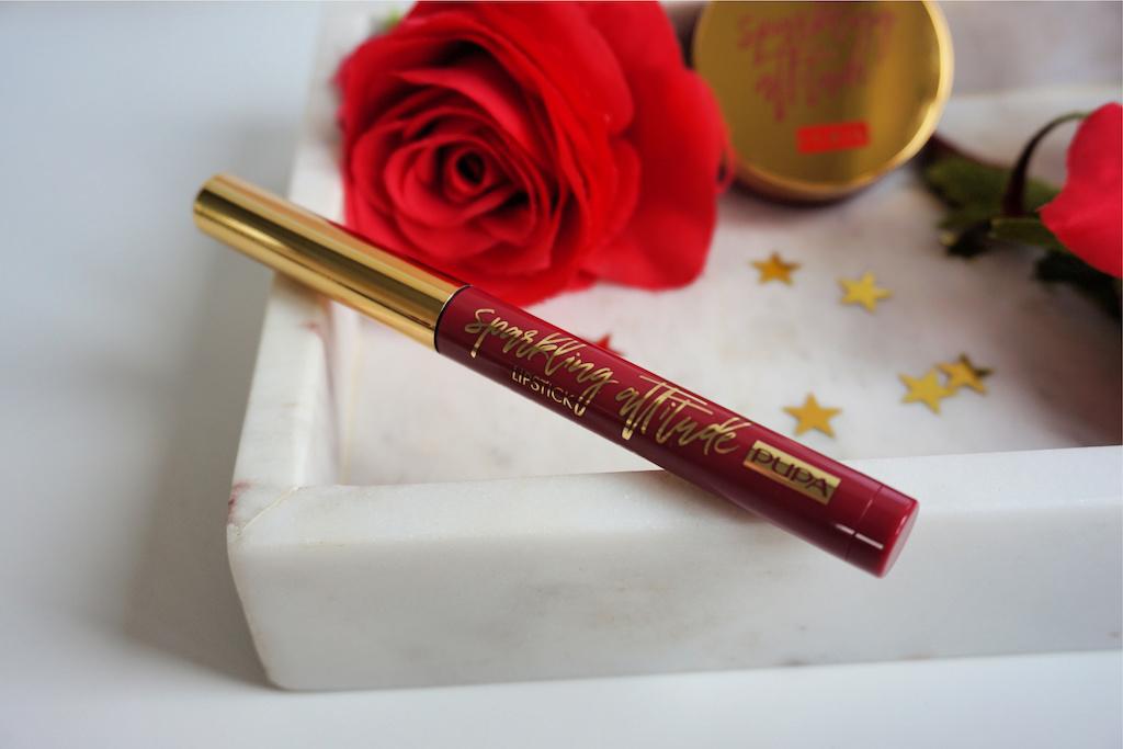 Pupa Milano Sparkling Attitude Lipstick Review