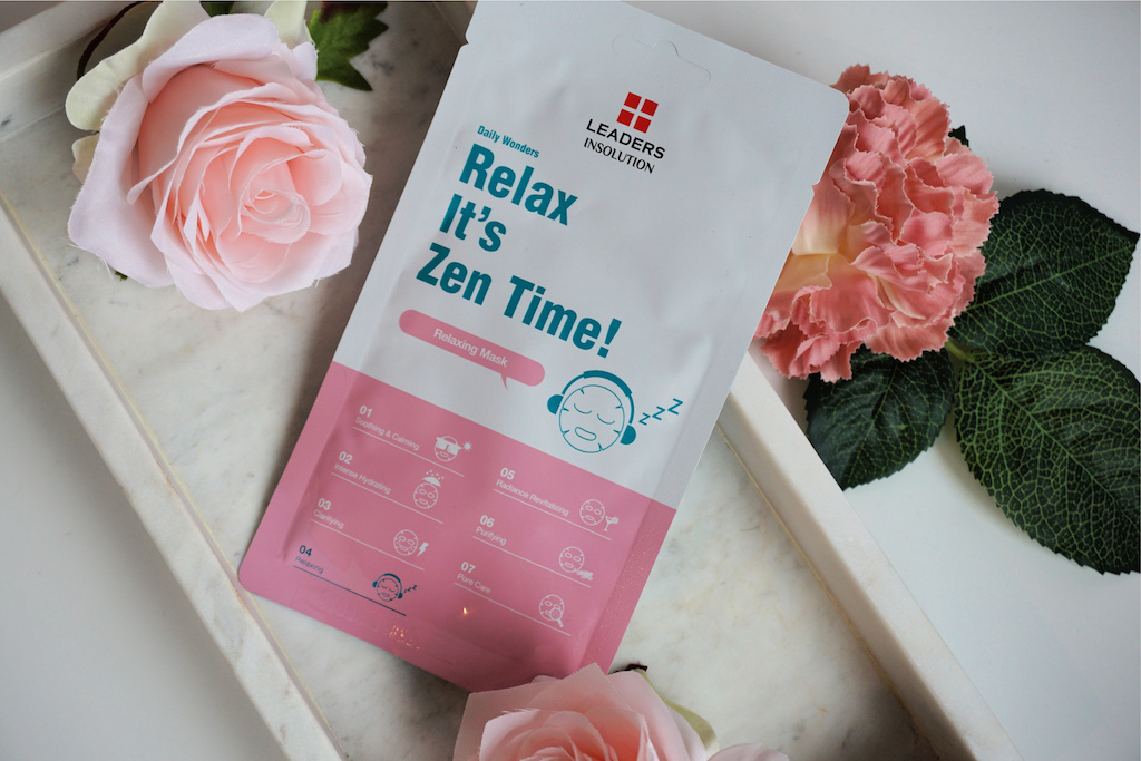 LEADERS Relax It's Zen Time Sheetmasker Review