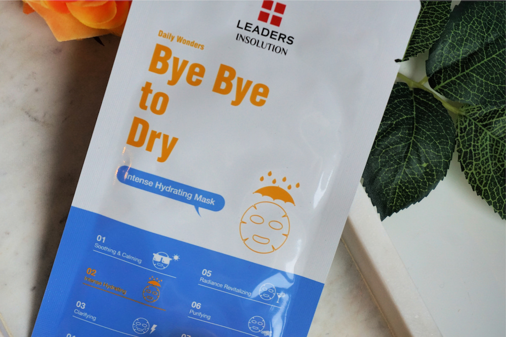 LEADERS Bye Bye To Dry Sheetmasker Review