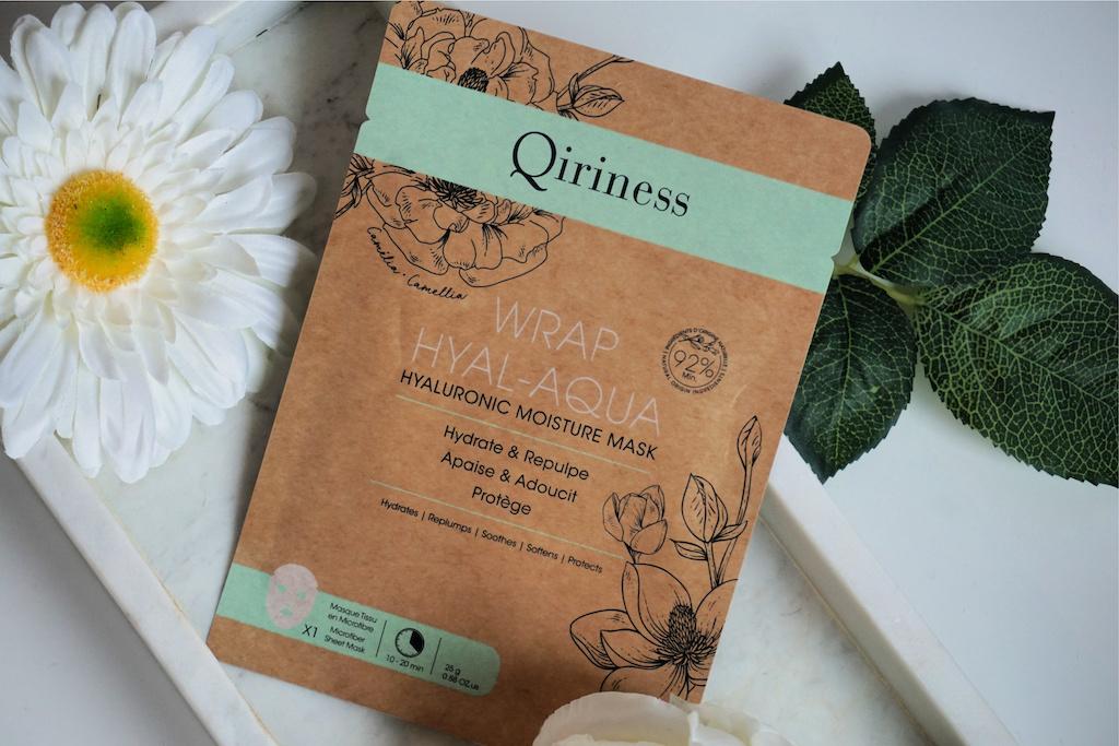 Qiriness Wrap Hyal Aqua Sheetmasker