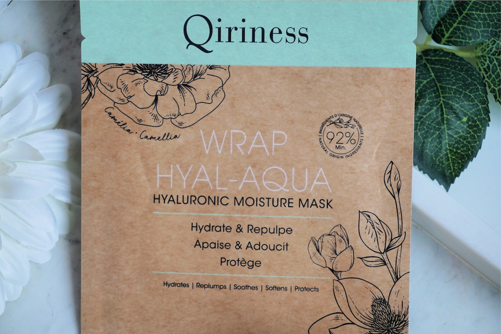 Qiriness Wrap Hyal Aqua Sheetmasker Review