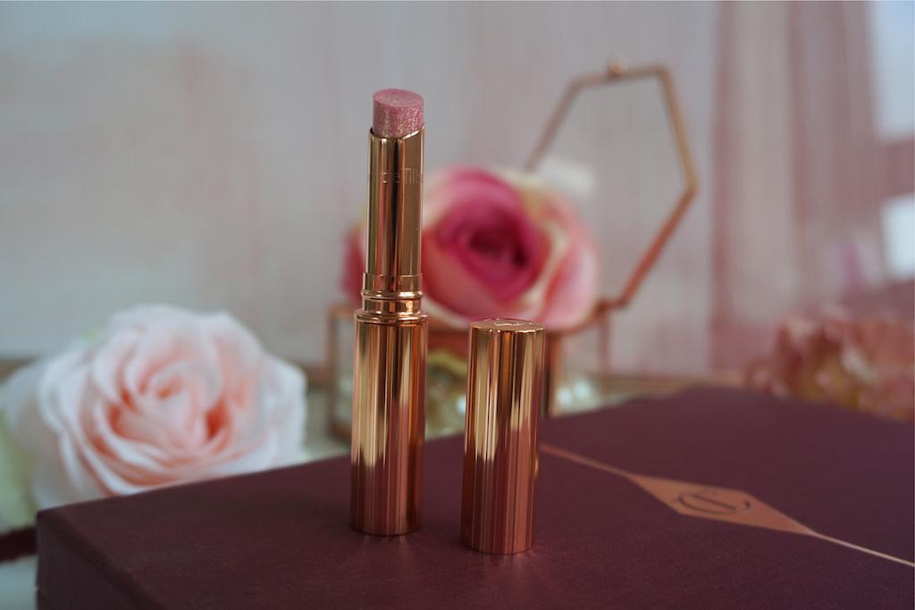 Charlotte Tilbury Pillow Talk Lucky Diamonds Lipstick Review