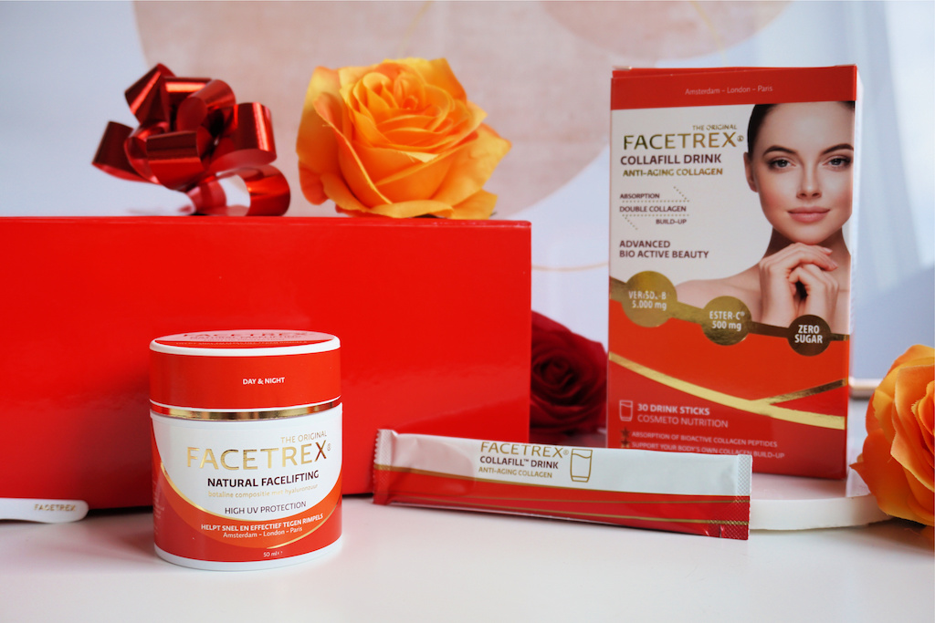 Facetrex Facelifting Crème & Collafill Drink (Collageen Poeder)