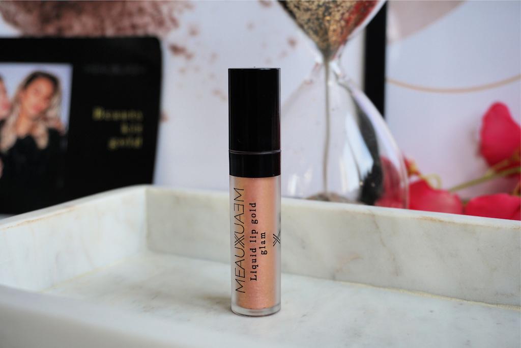MEAUXMEAUX Goldmember Liquid Lip Gold Review