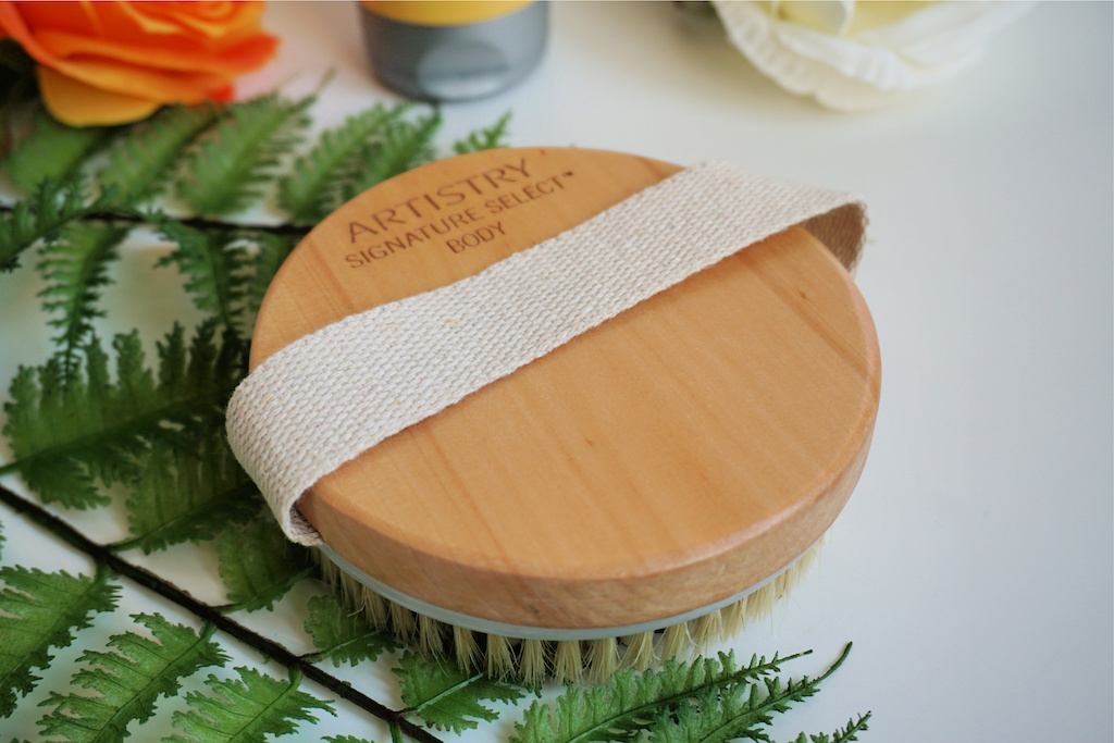Artistry Signature Select Body Exfoliating Brush Review