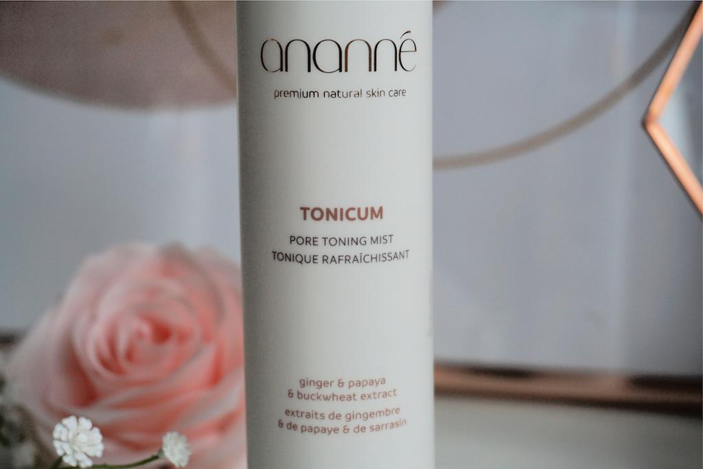 Ananné TONICUM Pore Toning Mist Review