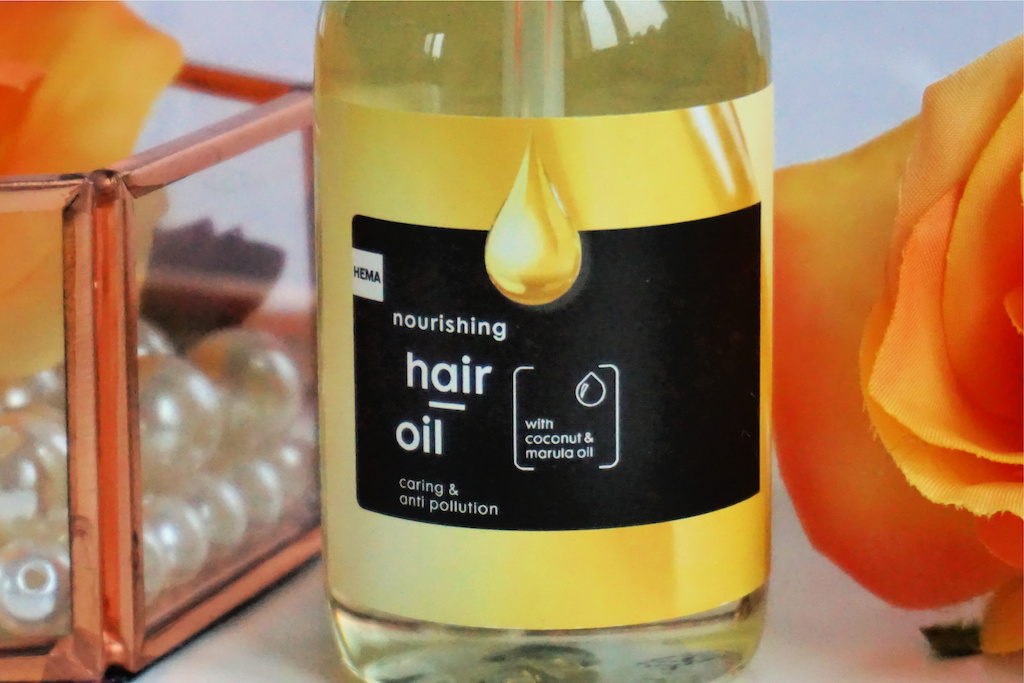 HEMA Nourishing Hair Oil review
