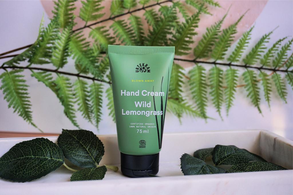 Urtekram Blown Away Wild Lemongrass Hand Cream Review