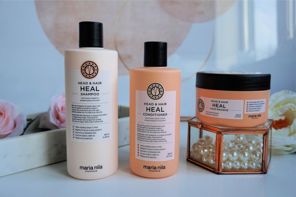 Maria Nila Head & Hair Heal Shampoo, Conditioner & Haarmasker