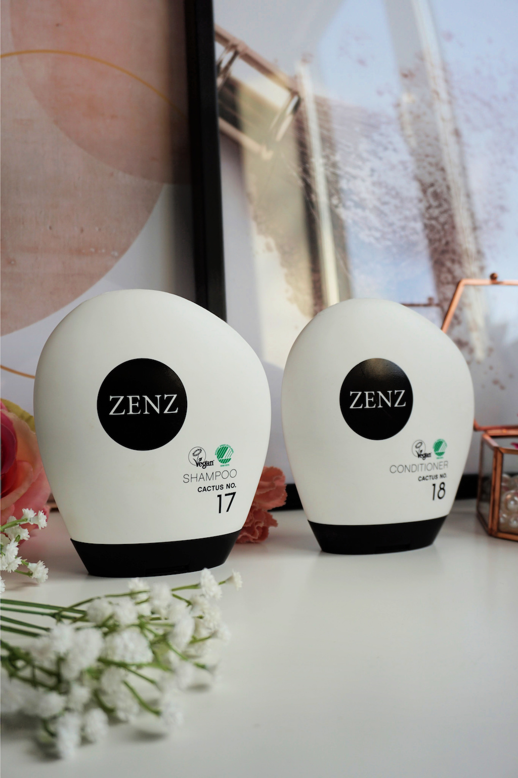 ZENZ Cactus Shampoo no. 17 & Cactus Conditioner no. 18 Review