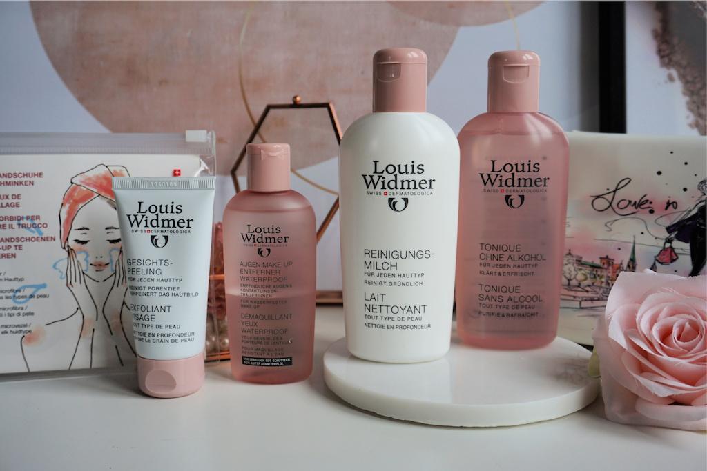 Louis Widmer Dermatologische Reinigingsproducten