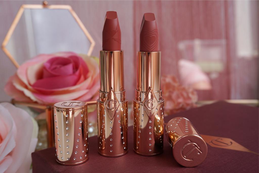 Charlotte Tilbury Look Of Love Matte Revolution Lipstick (duo review)