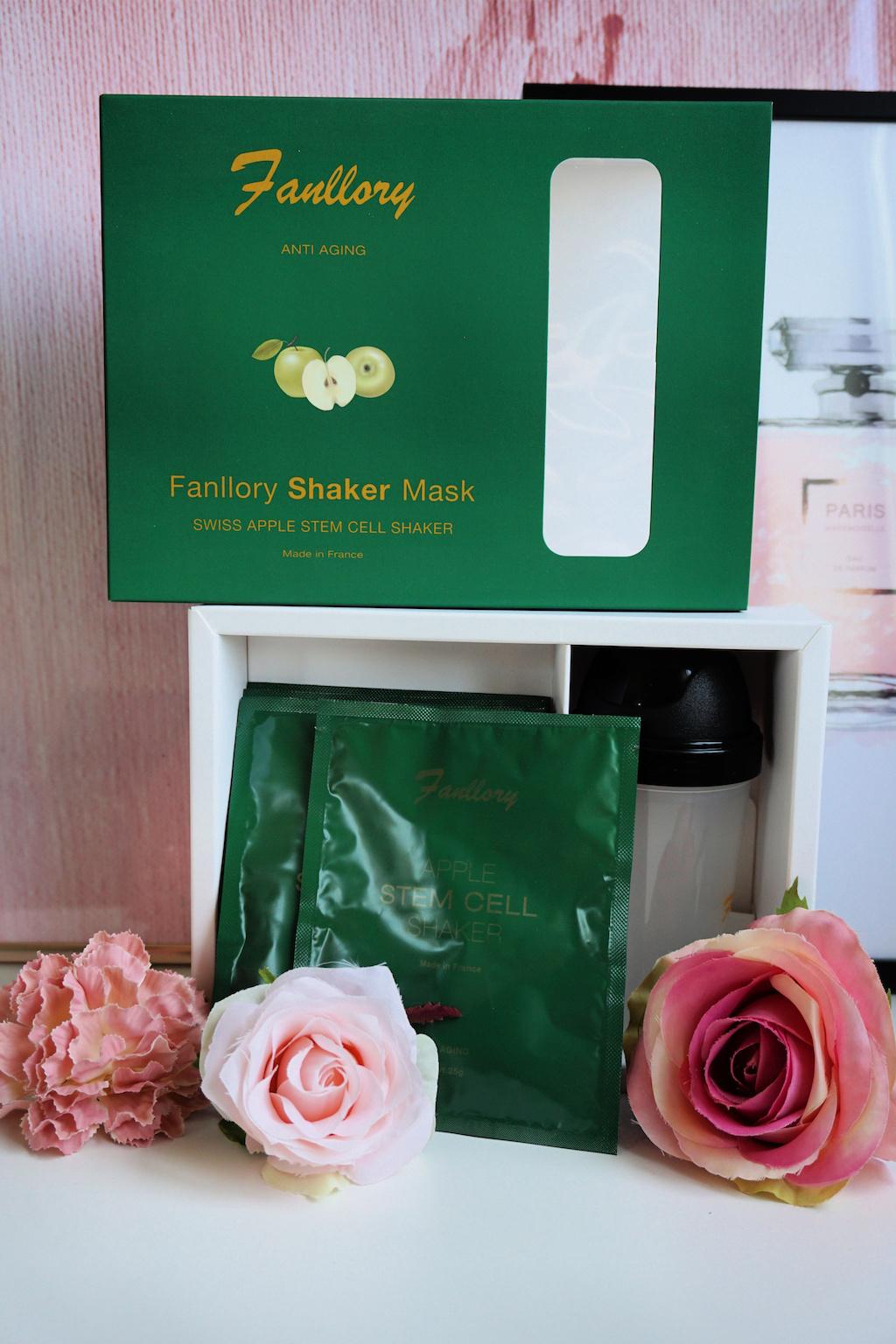 Over het Fanllory Swiss Apple Stem Cell Shaker Mask