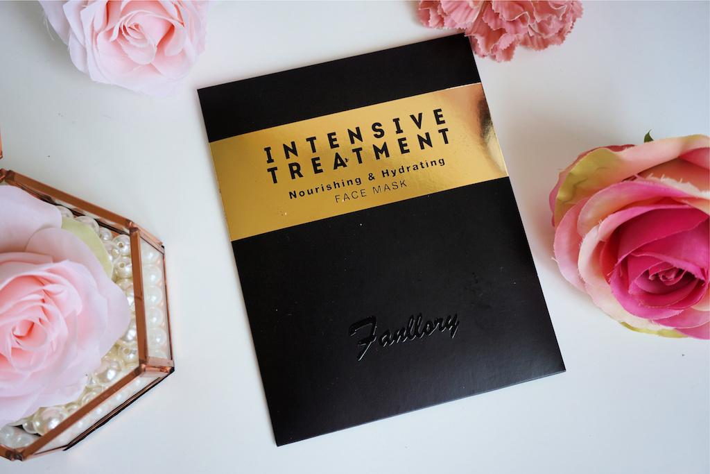 Fanllory Intensive Treatment Nourishing & Hydrating Sheetmasker