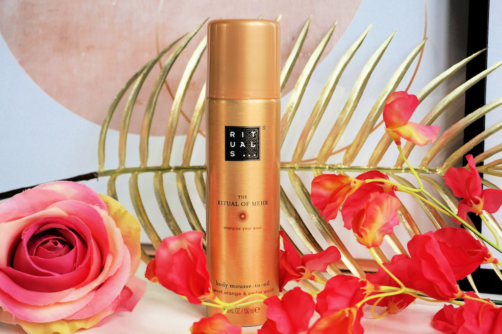 Rituals The Ritual of Mehr Body Mousse to Oil Lichaamsolie Review